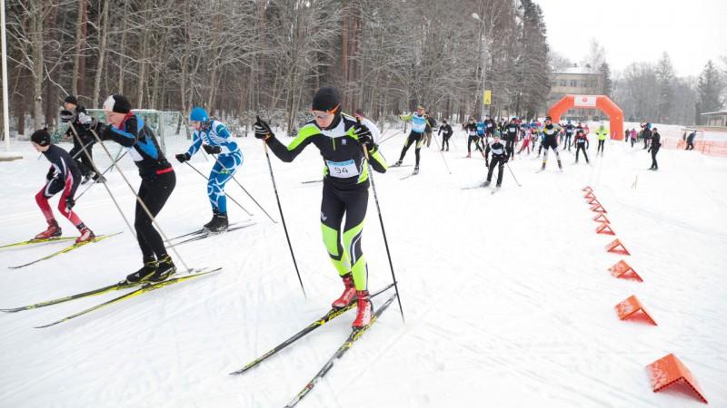 Siguldā tiek atklāta slēpošanas sacensību sezona