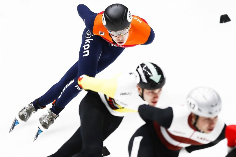 Latvijas stafetes komanda Eiropas čempionātu noslēdz septītajā vietā