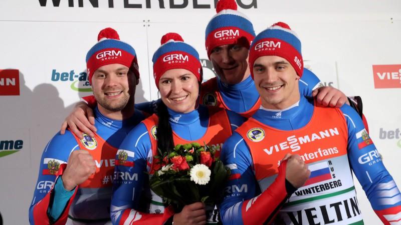 Latviju diskvalificē komandu stafetē, Vācija sensacionāli neuzvar