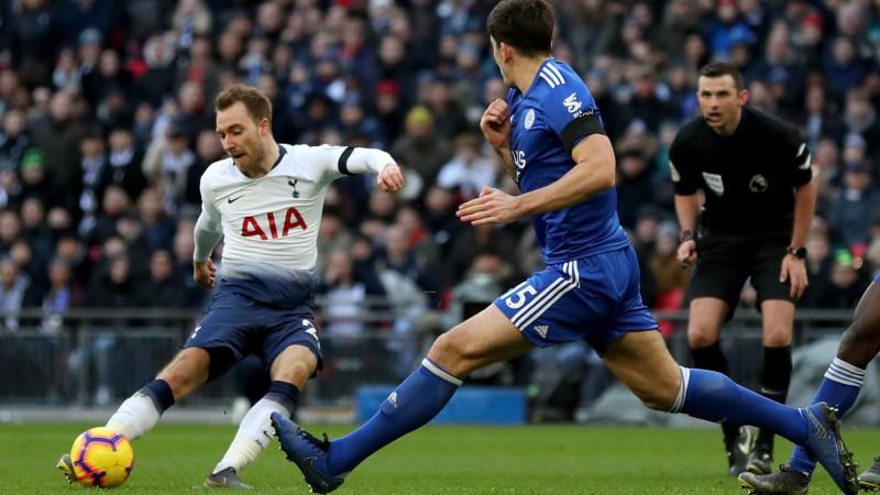 """""""Leicester"""" neizmanto neskaitāmas iespējas un piekāpjas """"Tottenham Hotspur"""""""