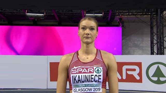 Ikauniece labo Latvijas rekordu un izcīna 5. vietu EČ pieccīņas disciplīnā