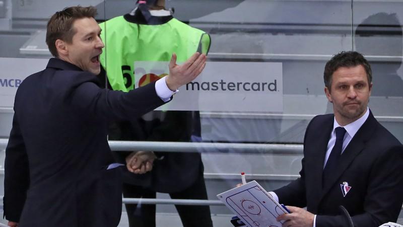 """Krievu treneris: """"KHL neko nezaudēs, ja tajā vairs nespēlēs """"Slovan"""""""""""
