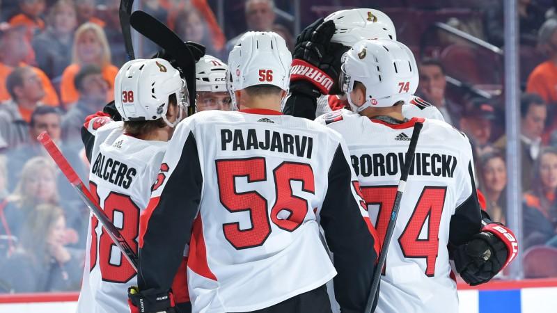 """Balceram piespēle, """"Senators"""" palīdz """"Flyers"""" turpināt dzīšanos pēc """"play-off"""""""