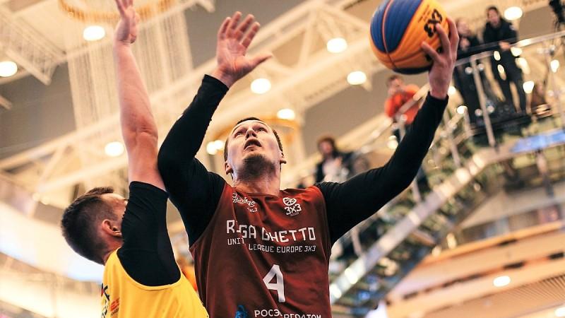 """Ghetto Basket"" izlase uzvar Eiropas tūres posmā 3x3 basketbolā"