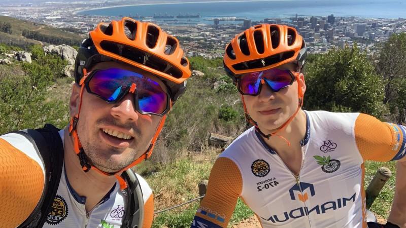 """Blūms un """"Miandum Cycling team"""" vīri svētdien uzsāks leģendāro """"Cape Epic"""""""