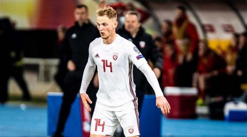 """Klubā lielas pārmaiņas - izlases pussargs Cigaņiks nepaliks Nīderlandes """"Cambuur"""""""