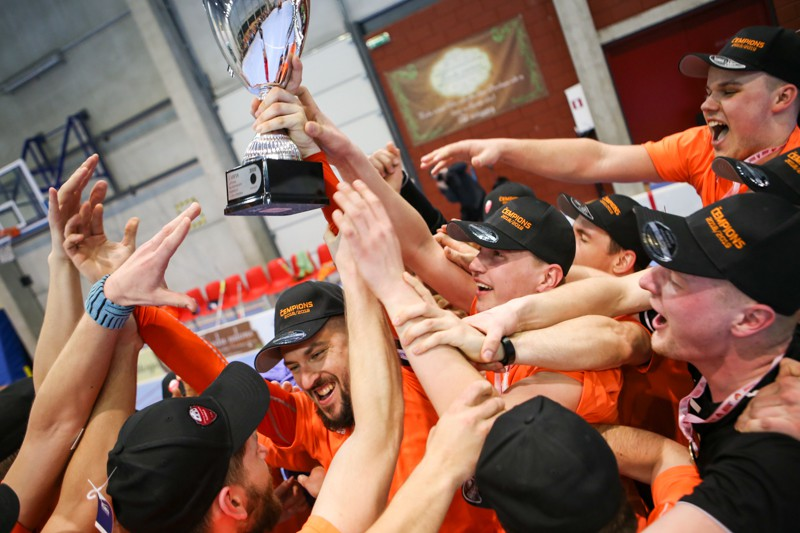 """1. līgas čempione - """"Irlava/Avant"""", vicečempiones godā """"Impar Limbaži"""""""