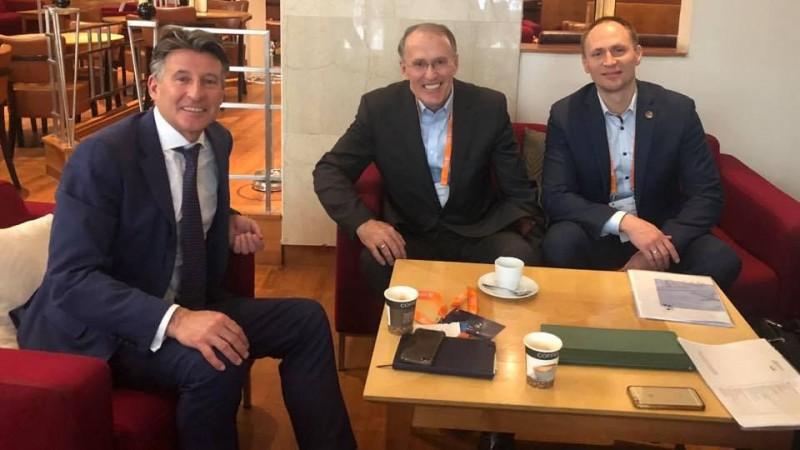 Gada beigās Latvijā varētu viesoties IAAF prezidents Ko
