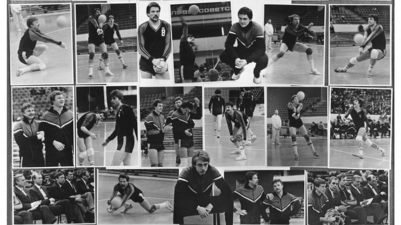 Latvijas volejbola leģendas uz lielā ekrāna