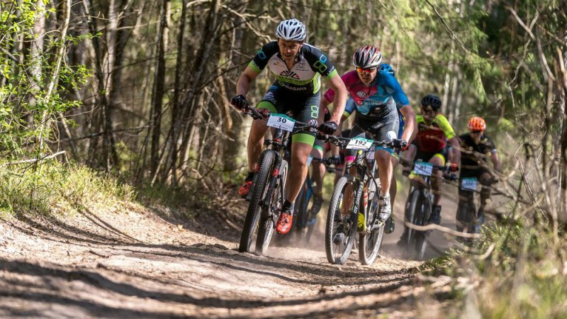 Svētdien atjaunotajās Talsu trasēs notiks Latvijas valsts mežu MTB maratona otrais etaps