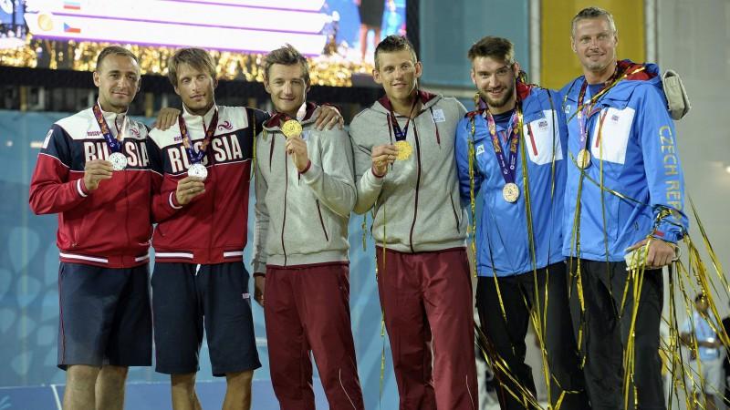 Latvijas izlases sastāvam Eiropas spēlēm pieteikta plaša 52 sportistu delegācija