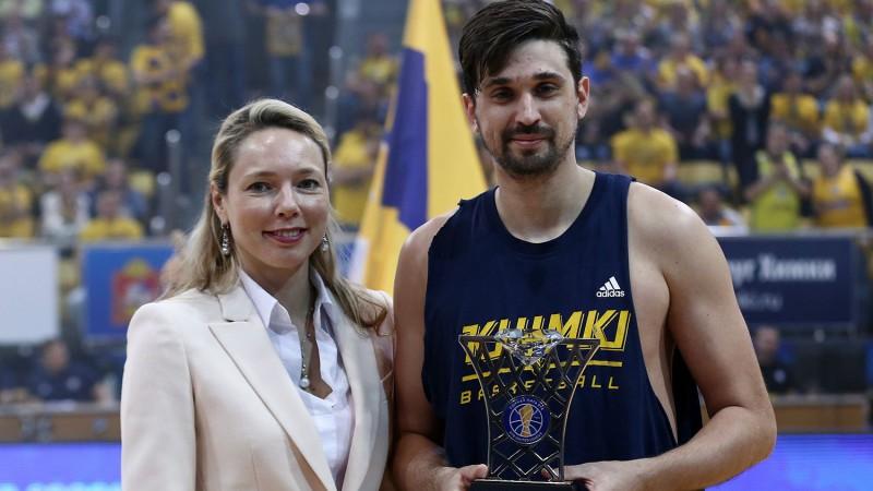 Šveds nosaukts par VTB Vienotās līgas regulārās sezonas vērtīgāko spēlētāju