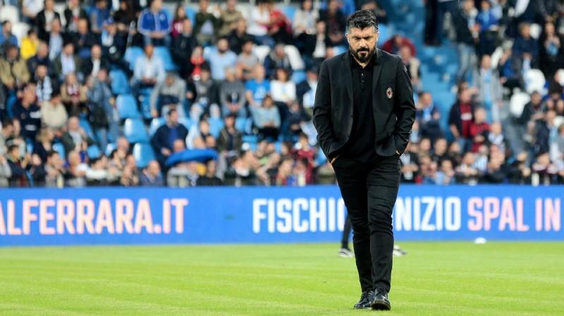 """Gatuzo pametīs """"Milan"""" galvenā trenera posteni"""