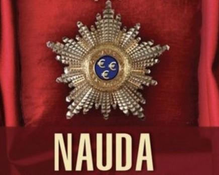 """Trilleris """"Nauda"""" – jau trešo nedēļu vispieprasītākais grāmatnīcās, izdevēji norobežojas no jezgas ap Triju Zvaigžņu ordeni"""