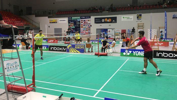 """""""Yonex Latvia International"""" turnīrā Jelgavā triumfē sportisti no Nīderlandes un Velsas"""
