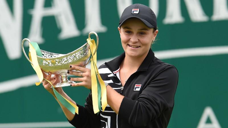 Bārtija pēc uzvaras Birmingemā kļūs par WTA ranga līderi