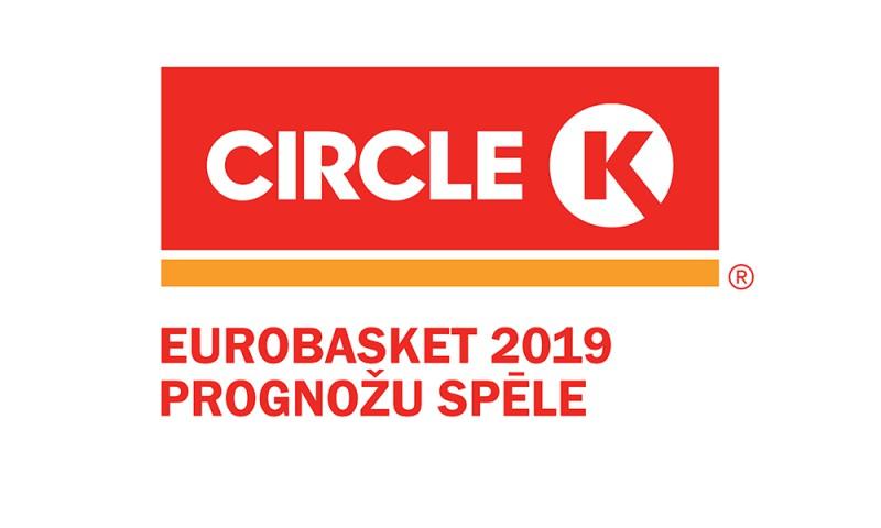 """""""CIRCLE K"""" Eurobasket 2019 prognožu spēlē uzvar lietotājs arnis30"""