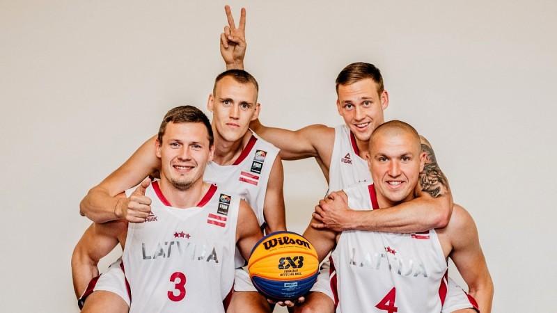 Latvijas 3x3 izlase izrēķinās ar visiem un sasniedz Eiropas kausa finālturnīru