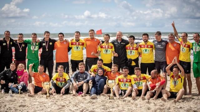 """""""Linden City BSC"""" otro gadu pēc kārtas uzvar Latvijas kausā pludmales futbolā"""