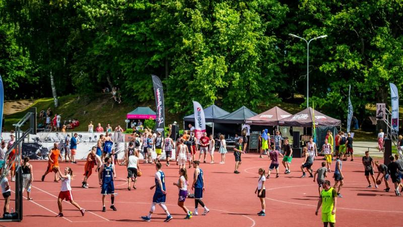 "3. augustā Alūksnē ""Ghetto Basket"" 3x3 basketbola turnīrs"