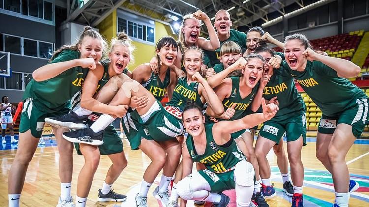 Lietuva turpina rakstīt sapņu stāstu un sasniedz Eiropas U16 čempionāta finālu