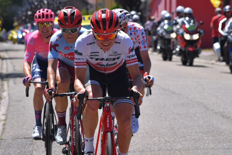 Skujiņš septītais Vācijas tūres 3. posmā; Lukševicam UCI punkti Kazahstānā