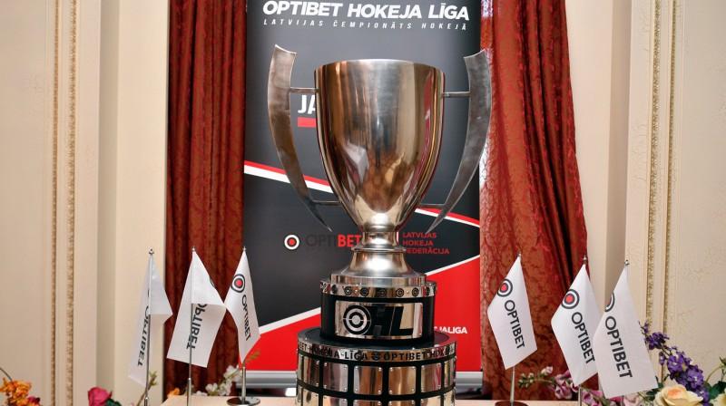 Latvijas čempionāta zeltu par savu mērķi publiski nosauc trīs komandas