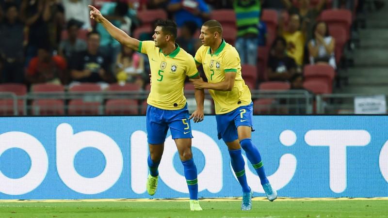 Kazemiru izglābj Brazīliju no kauna spēlē pret Nigēriju