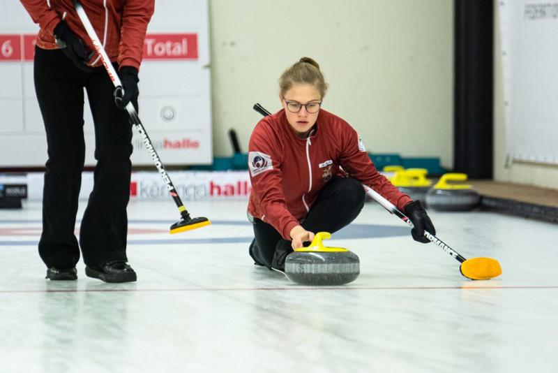 No Šveices Latvijas sieviešu kērlinga izlase atgriežas mājās ar 5. vietu