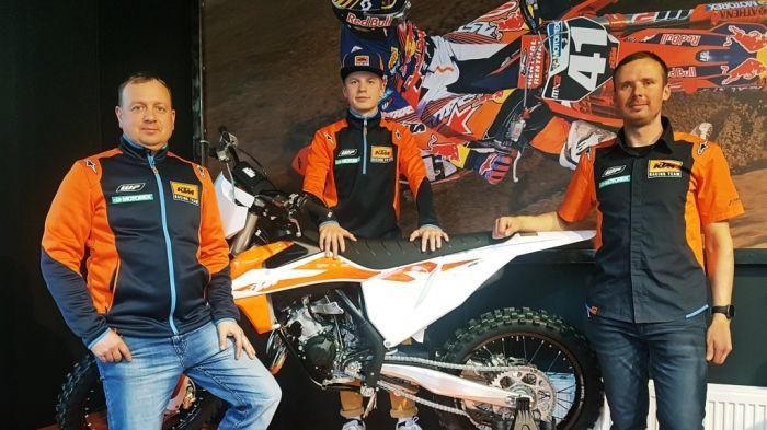 Reišulis paraksta līgumu ar KTM un aizvadīs pilnu sezonu EMX125 čempionātā
