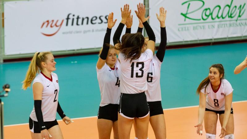 Sieviešu volejbola izlase uz Igauniju dosies bez līderes Levinskas