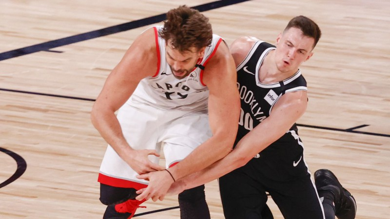 """Kurucam seši punkti, """"Nets"""" trešais zaudējums trīs mačos pret """"Raptors"""""""