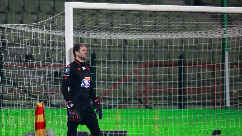 """Šteinboram var nākties meklēt jaunu klubu – """"Jagiellonia"""" pirmā numura lomu vēlas dot jaunietim"""