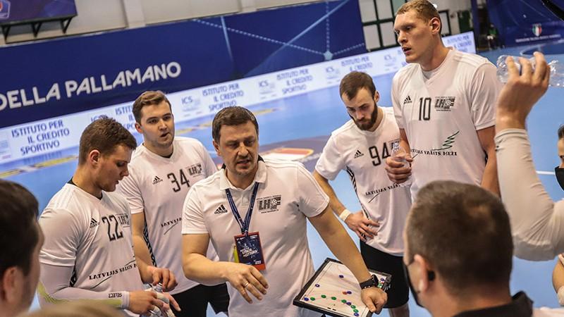 Nomazgāt smago zaudējumu: Latvijas handbolisti vēlreiz spēkosies pret Itāliju