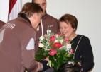 Foto: Latvijas olimpiskā komanda ciemojas arī pie Ministru prezidentes