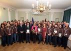 Foto: Latvijas olimpieši viesojas valsts sporta pārvaldē