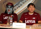 Foto: Latvijas Florbola čempionāta pirmssezonas preses konference