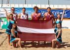 Brazīlijas smiltīs spēlēs četri olimpieši