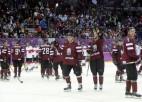 Latvijas hokeja izlase atgriezusies mājās