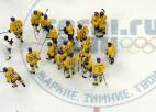 Ziemeļvalstu derbijā zviedri apspēlē somus un iekļūst olimpiskajā finālā