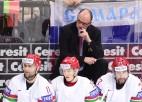 Lūiss turpinās trenēt Baltkrievijas hokeja izlasi