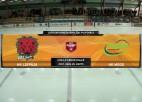 """Video: Hokeja virslīga: HK """"Liepāja"""" - HK Mogo"""", play-off spēles ieraksts"""