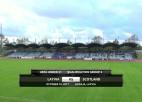 Video: Latvijas U21 un Skotijas U21 spēles ieraksts