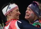 Norvēģiete Bjergena kļūst par visu laiku medaļām bagātāko ziemas olimpieti