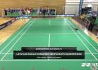Video: Latvijas skolu komandu čempionāts badmintonā