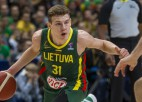 Lietuviešu talants Jokubaitis piesakās NBA draftam