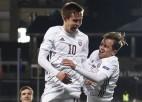 Latvijas izlase sāks martā pret Melnkalni, mājas spēle pret Nīderlandi oktobrī