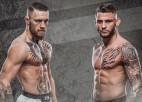 Makgregors un Porjē atkal tiksies ringā: bukmeikeri prognozē gaidāmās UFC cīņas čempionu
