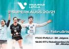 Latvijas labākās volejbola komandas cīnīsies par Superkausu