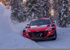 "Olivers Solbergs: ""Testi ar ""Hyundai i20 Coupe WRC"" - tas bija kaut kas neticams"" (+video)"